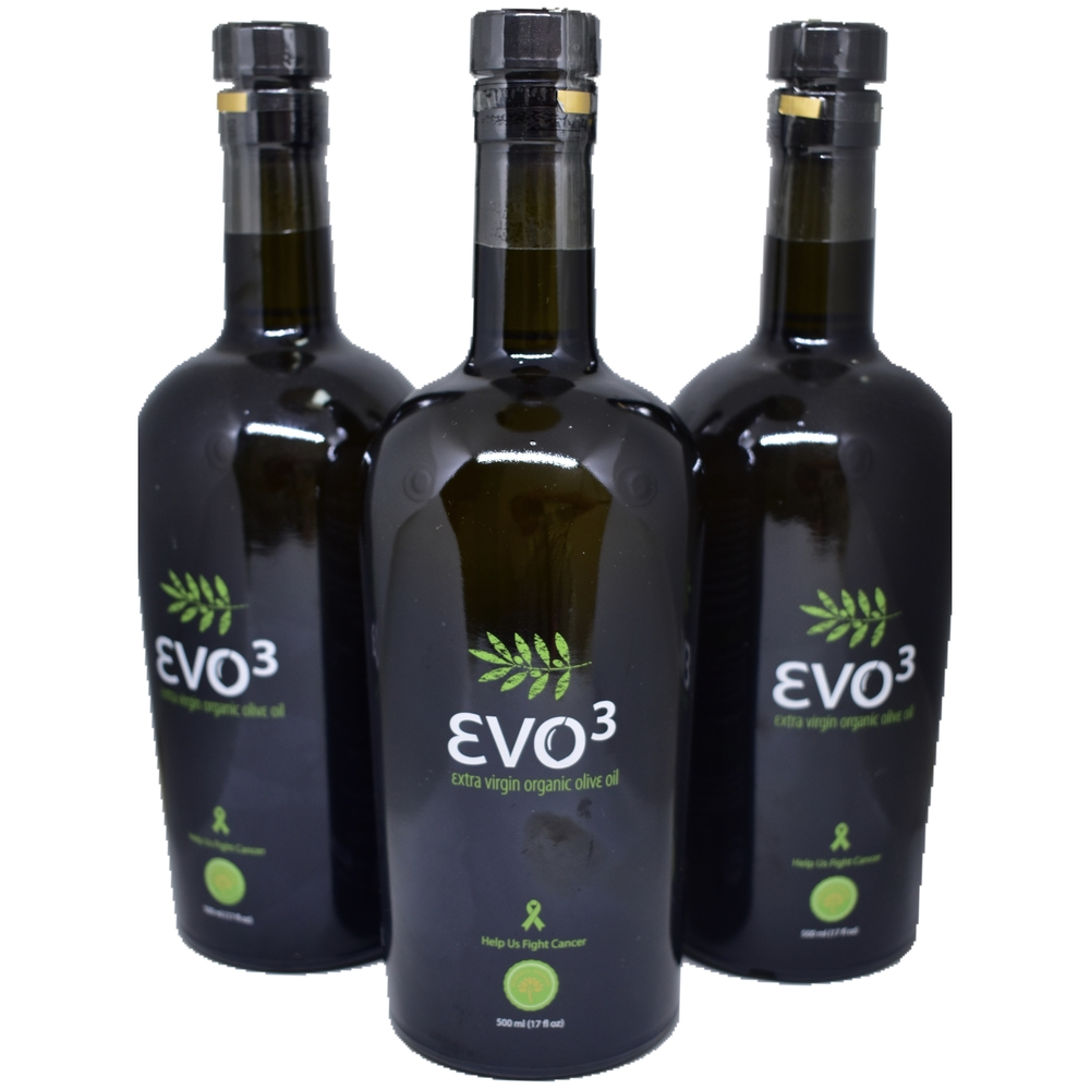 Box of 9 Evo3 500ml Bottles