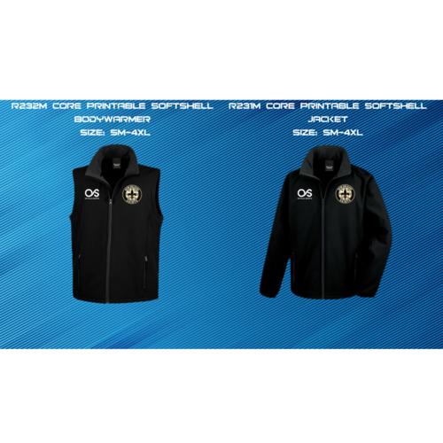 UK Saints Fans Softshell Jacket