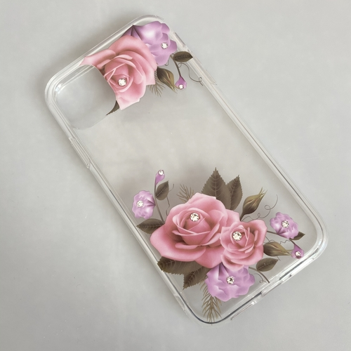 Clear Floral iPhone 11 Case