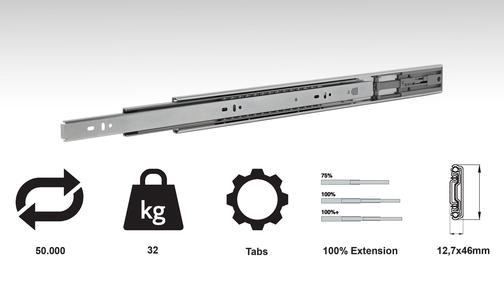 CC20 - Standard Drawer Slide