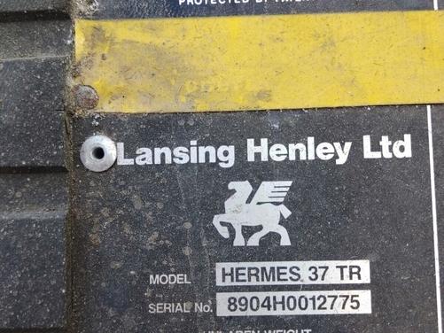 Lansing hermes TR40 forklift