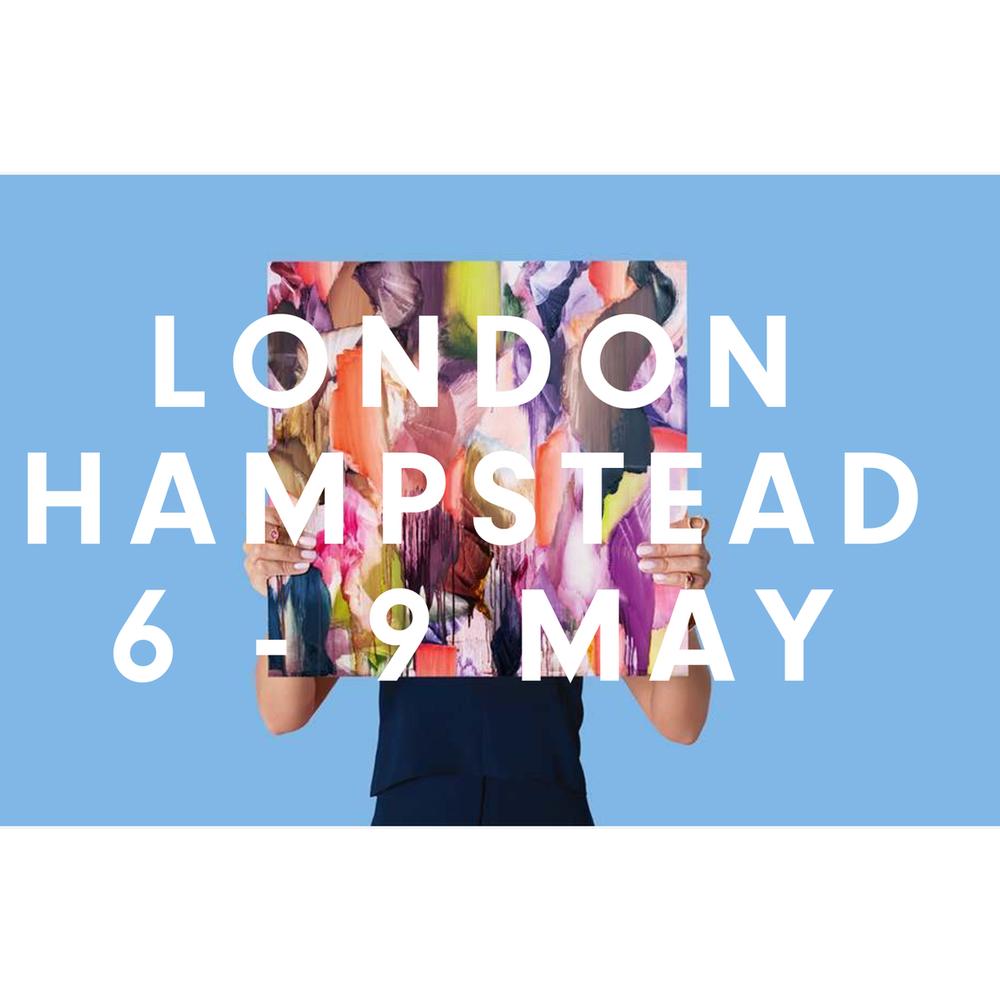 Affordable Art Fair London Hampstead 6 - 9 May 2021