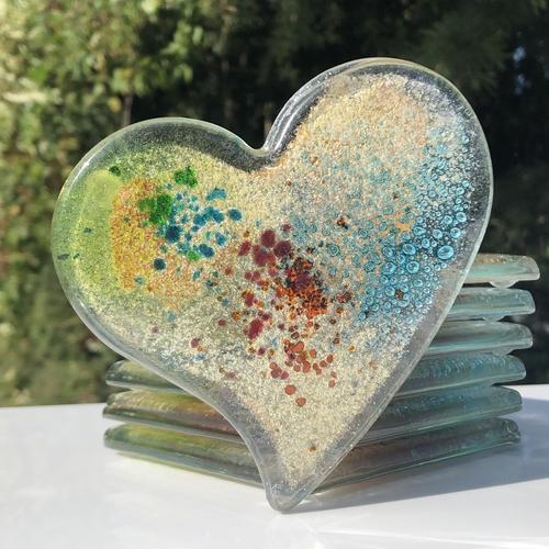 Hydra Lime Coaster (Heart)