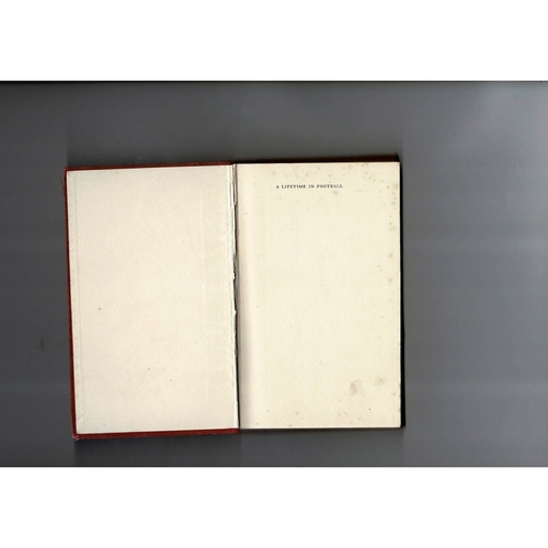 A lifetime in Football by Charles Buchan Hardback Edition Football Book 1956