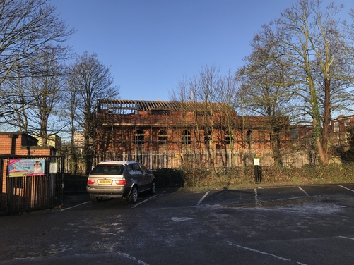 New build development in Wimbledon