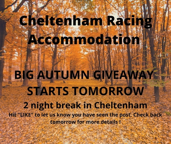 Autumn Giveaway Starts Tuesday 22nd September 2020