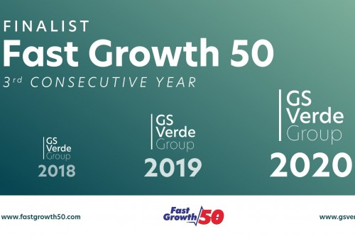 GS Verde Group makes Wales Fast Growth list for the 3rd consecutive year.
