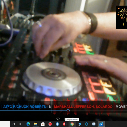 DJ NICK'S VIRTUAL DISCO LIVESTREAM BROADCAST PACKAGE