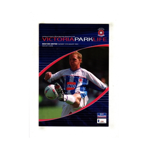 Boston United Away Football Programmes