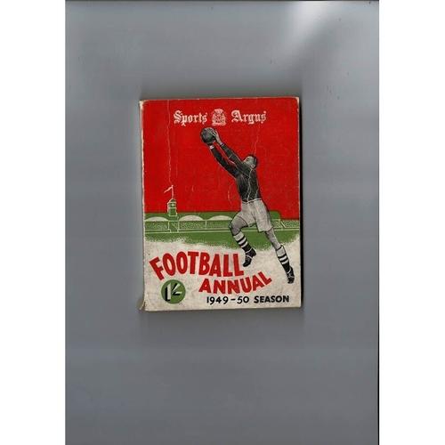 1949/50 Sports Argus Football Annual