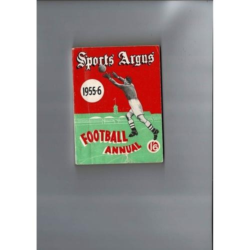 1955/56 Sports Argus Football Annual