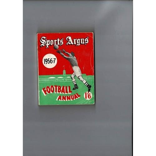 1956/57 Sports Argus Football Annual