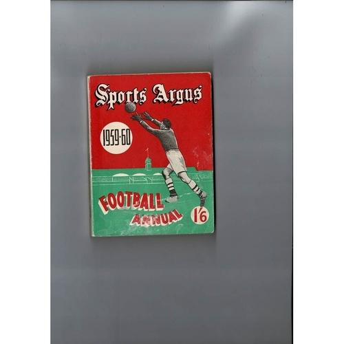 1959/60 Sports Argus Football Annual