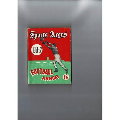 1961/62 Sports Argus Football Annual