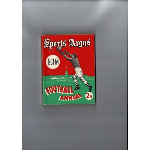 1963/64 Sports Argus Football Annual