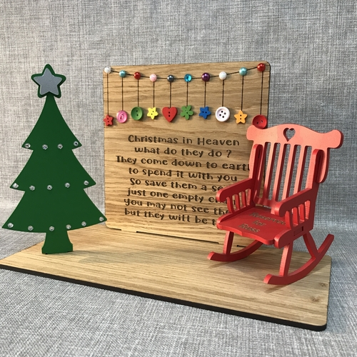 """"""" Christmas in heaven """" save a seat"""
