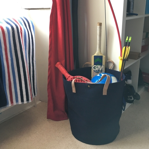 Felt storage bag