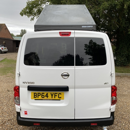 2015 Nissan NV200 ACENTA 1.5 DCi 2 Berth Camper Van 30038 Miles Pro Conversion