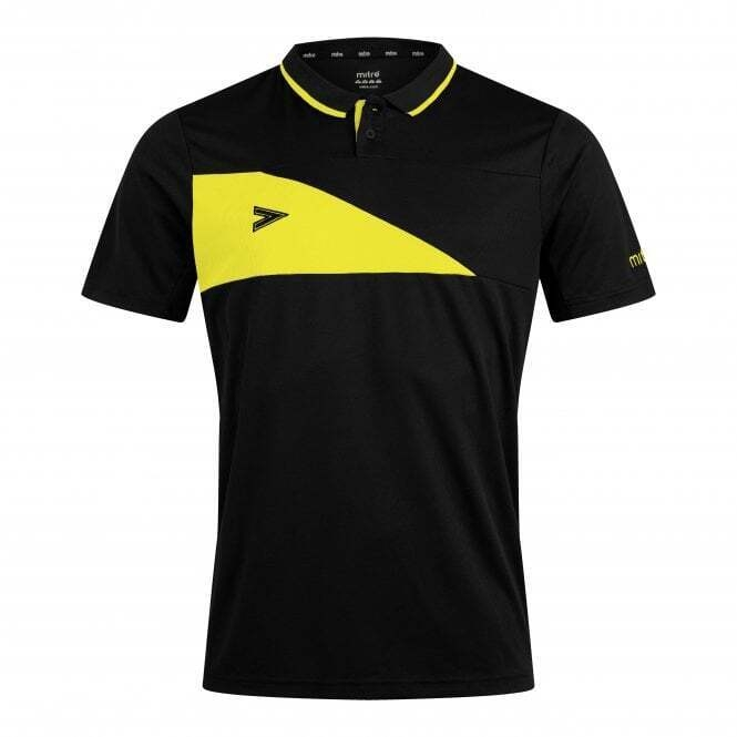 ASKC Delta Plus Polo Black/Yellow