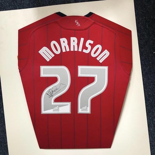 James Morrison hand signed Shirt