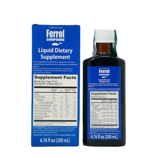 Ferrol Compound Liquid Tonic