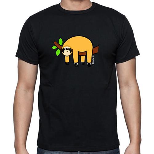 'Orange Sloth' T-Shirt