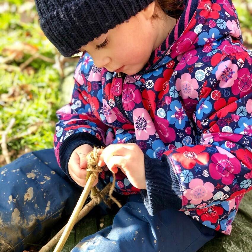 Isabello's Preschool Forest School Fun