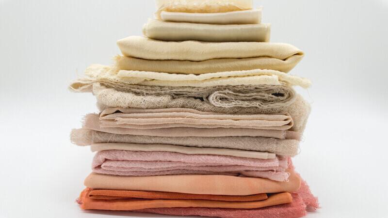 Eco Friendly textiles  plastic free tree free bamboo local business environmentally friendly zero waste hemp sisal cotton fabric natural colours