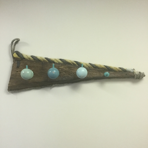 Small Driftwood Coat Rack.