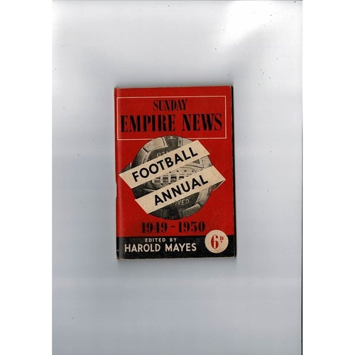 Sunday Empire News Football Annual 1949/50