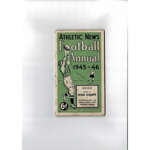 Athletic News Football Annual 1945/46