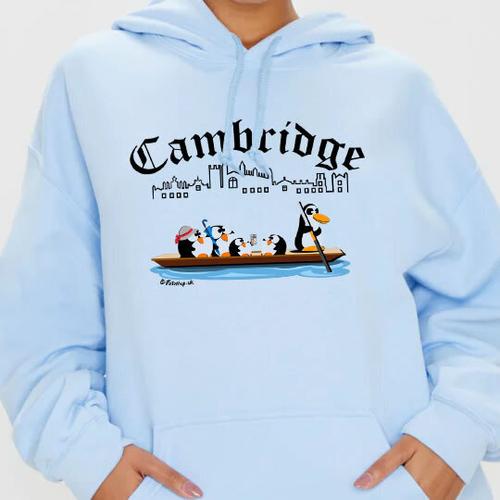 'Punting in Cambridge' Hoodie