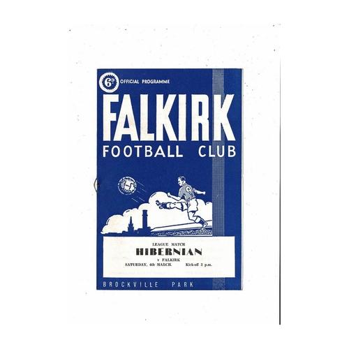 Falkirk Football Programmes