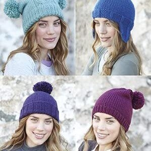 Chunky hat pattern 7380