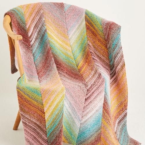 Aran blanket pattern 10141