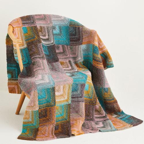Aran blanket pattern 10142