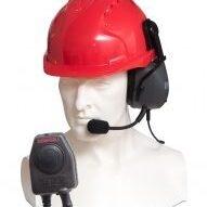 CHP450HS/DX heavy duty single ear-cup earpiece