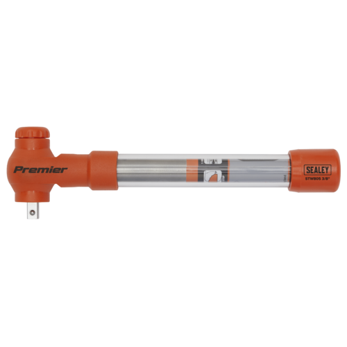 """Torque Wrench Insulated 3/8""""Sq Drive 5-25Nm - Sealey - STW805"""