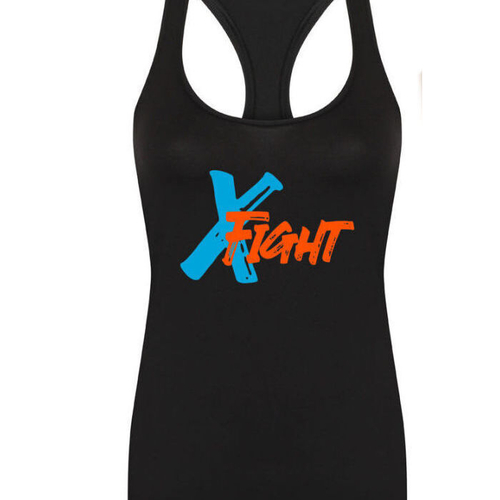 X Fight Racerback Vest - Black