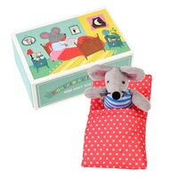 MOUSE IN A LITTLE HOUSE SOFT TOY