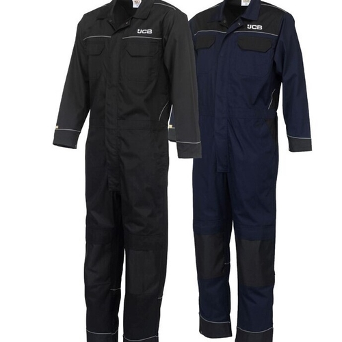Coverall with Knee Pad Pockets - Reg Leg - JCB Workwear - D+IY/D+IZ