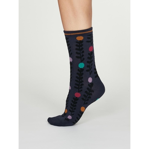 Thought Bamboo Socks Abstract Floral
