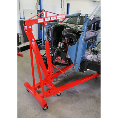 Folding Crane 1tonne 'KD' Type - Sealey - SC10