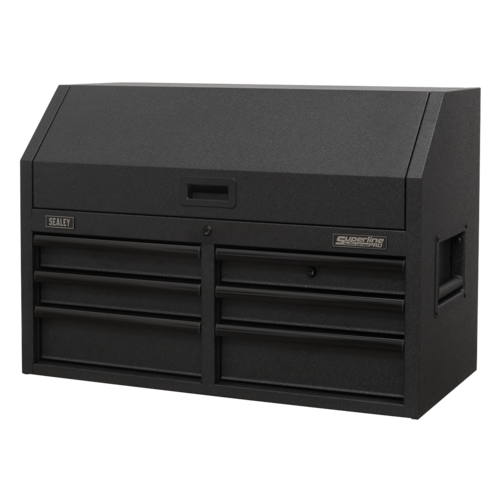 Topchest 6 Drawer 910mm with Soft Close Drawers & Power Strip - Sealey - AP3607BE