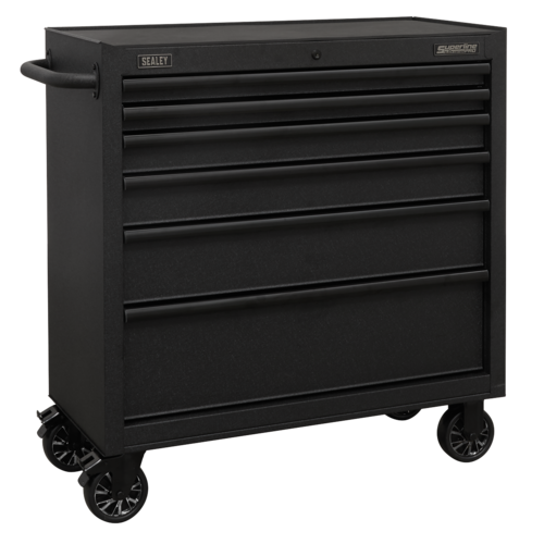 Rollcab 6 Drawer 915mm with Soft Close Drawers - Sealey - AP3606BE