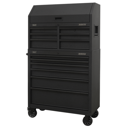 12 Drawer Tool Chest Combination with Power Bar - Sealey - AP36BESTACK