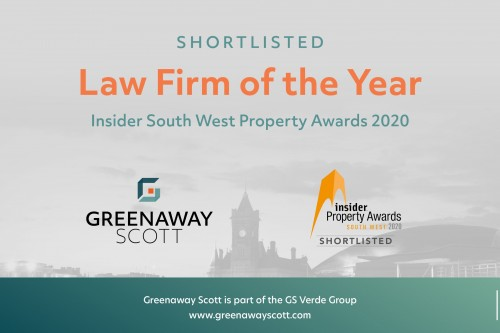 Greenaway Scott shortlisted for the South West Property awards