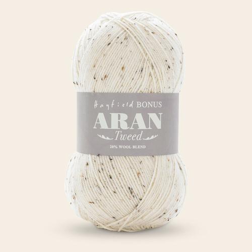 Bonus Aran Tweed with wool