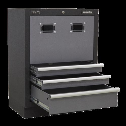 Modular Reel Cabinet 680mm - Sealey - APMS63