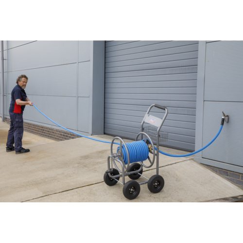 Hose Reel Cart Heavy-Duty - Sealey - HRCHD